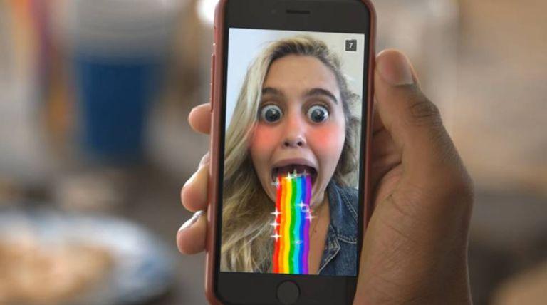 O Snapchat lidera a lista.