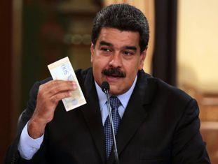 Nicolás Maduro, na sexta-feira em Caracas.