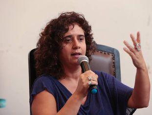 A professora Tatiana Roque.
