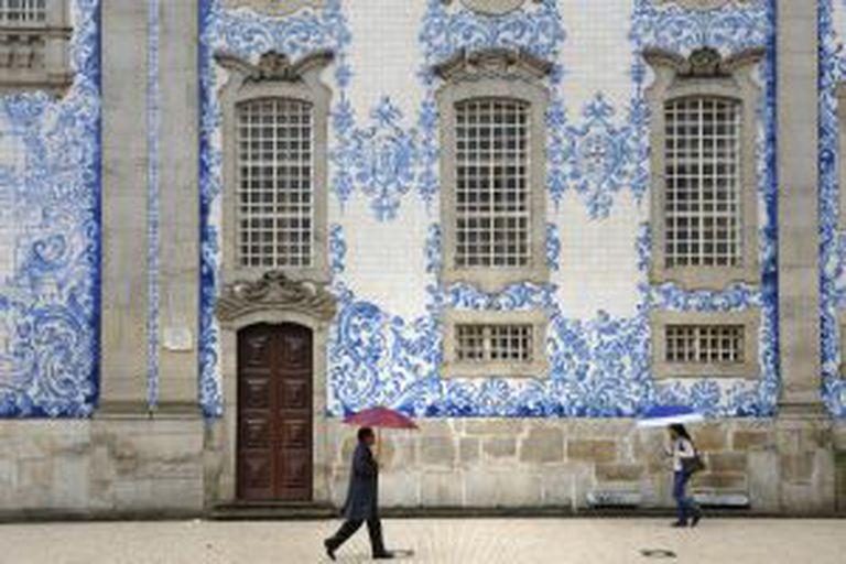 Azulejos da Igreja do Carmo, no Porto.
