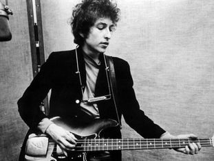 Bob Dylan, em 1965.