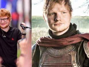 Uma das surpresas da estreia da sétima temporada de 'Game of Thrones' foi a aparição do cantor <b>Ed Sheeran</b>. A participação do artista que canta sobre Barcelona era conhecida desde março passado, e na cena o artista interpreta um soldado Lannister que se senta ao lado de Arya e saboreiam um vinho e um coelho em grupo.