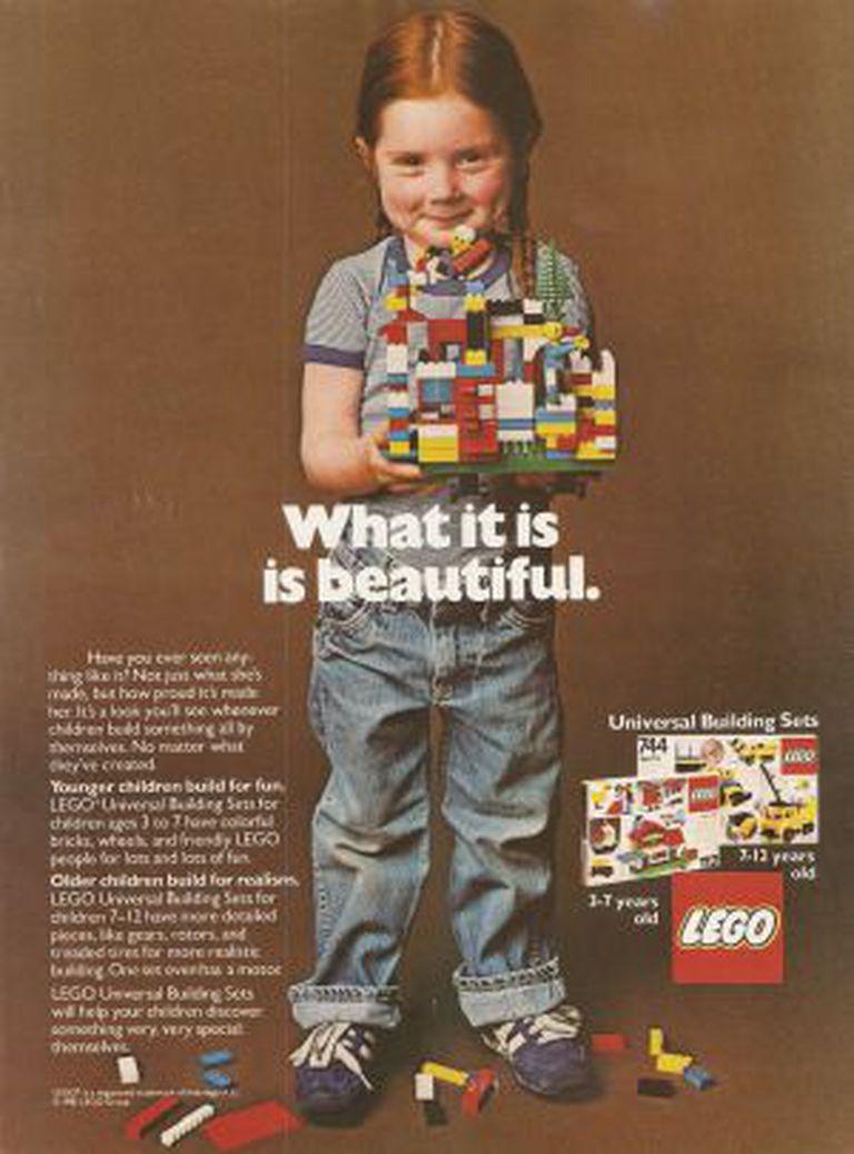 Anúncio da Lego de 1981.