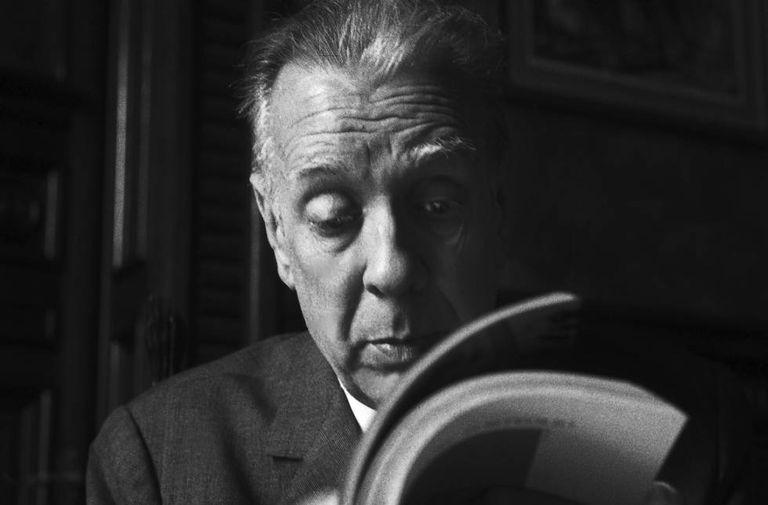 O escritor Jorge Luis Borges