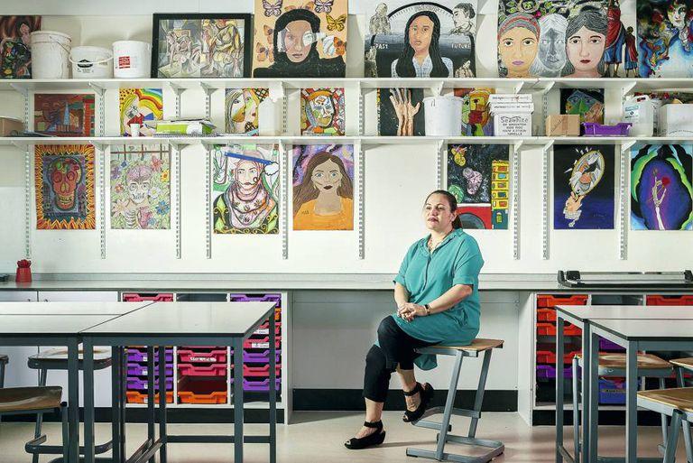 Zafirakou é professora na Alperton Community School de Brent, um bairro imigrante e pobre no noroeste de Londres.