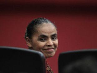 Marina Silva, em outubro de 2013.