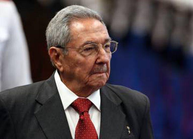 Raúl Castro na quinta-feira em Havana