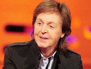 O cantor britânico Paul McCartney.