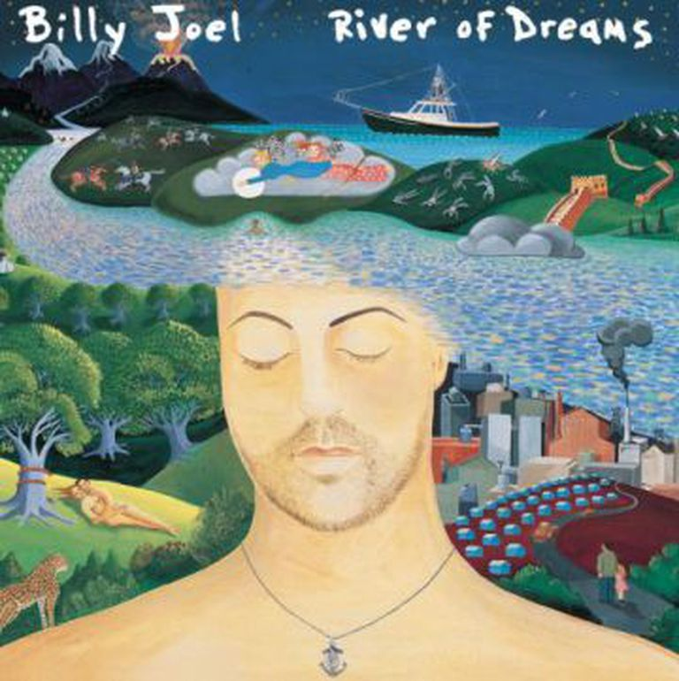 Capa do disco 'River of Dreams'.