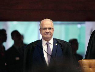 Ministro Edson Fachin, em setembro de 2017.
