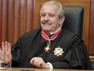 Robson Marinho, conselheiro do Tribunal de Contas de São Paulo, durante uma sessão em 2011.