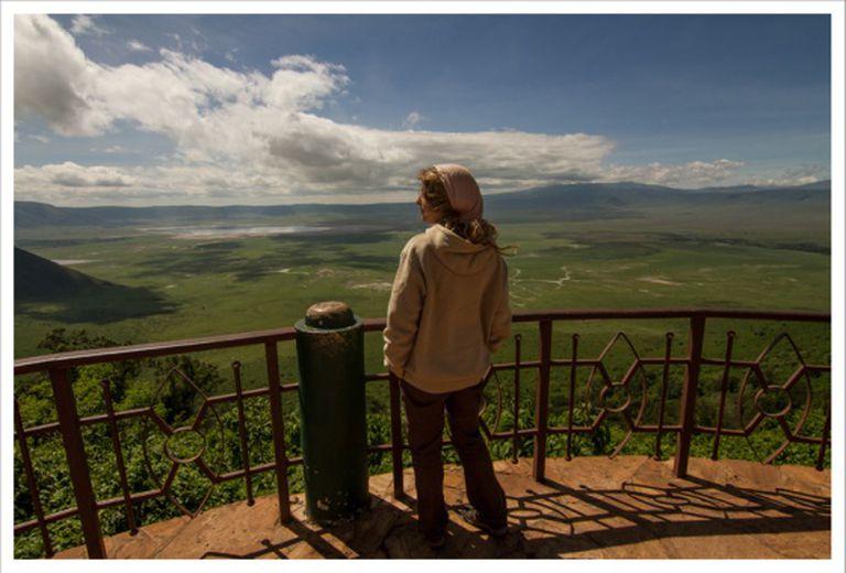 Em lugares como este NÃO há Internet. Cratera do Ngorongoro, Tanzania. Abril de 2015.