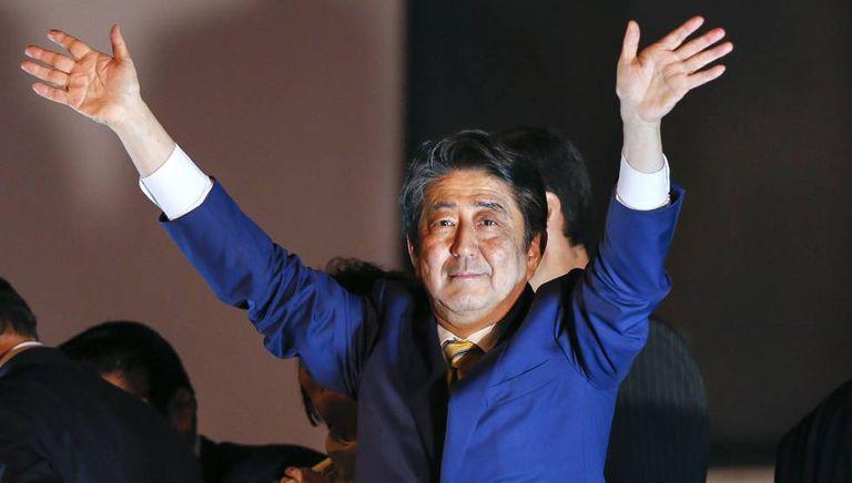 Shinzo Abe, neste sábado.