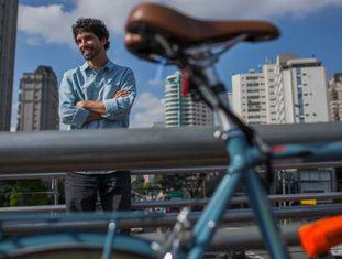 O ativista Carlos Aranha.