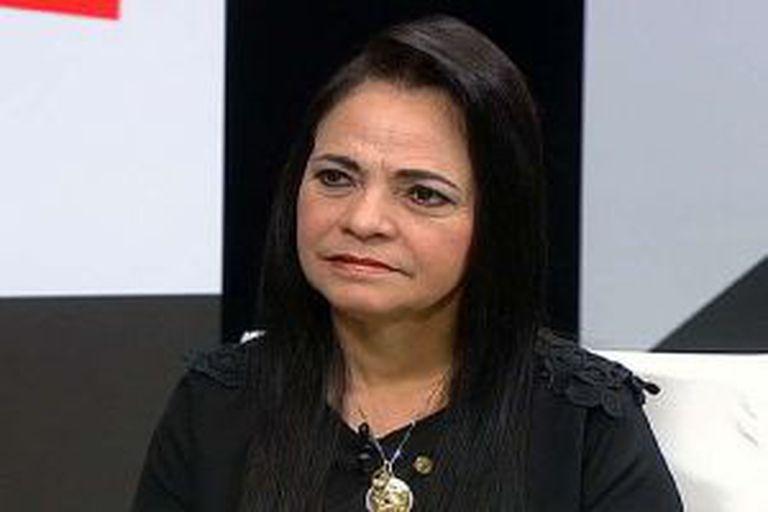 A deputada Moema Gramacho.