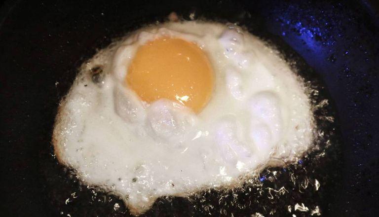 """""""O ovo estrelado depois da escola..."""""""