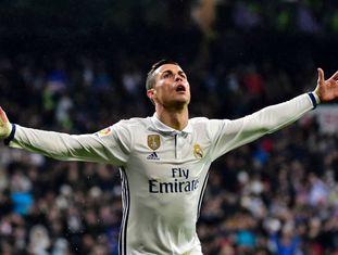 Cristiano Ronaldo, no Santiago Bernabéu.