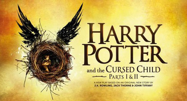 Cartaz da oitava parte de 'Harry Potter'.