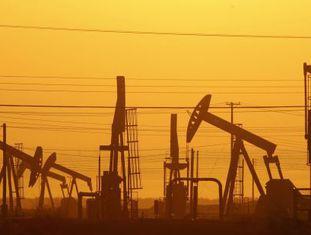 Usina de extração através do 'fracking' na Califórnia.
