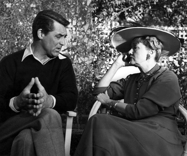 Cary Grant entrevistado por Hedda Hopper em 1948.