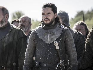 Kit Harington, no papel de Jon Snow em 'Game of Thrones'.