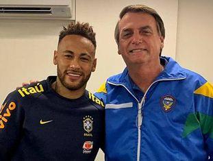 Neymar recebeu apoio do presidente Jair Bolsonaro na última quarta-feira.