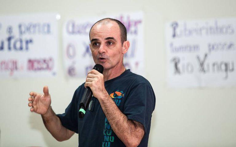 O pesquisador Jansen Zuanon, do Instituto Nacional de Pesquisas Amazônicas.