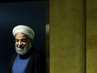 O presidente iraniano, Hassan Rohani, na Assembleia Geral das Nações Unidas
