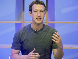 O criador do Facebook, Mark Zuckerberg.