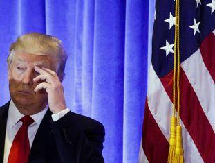 Donald Trump, na coletiva de imprensa no último dia 11, em Washington.