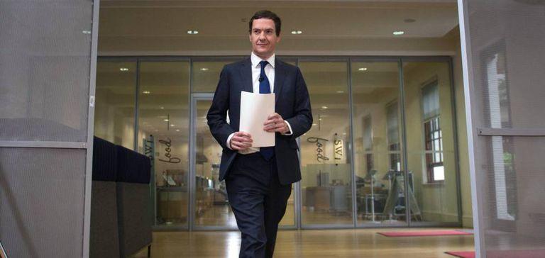 O ministro da Economia britânico, George Osborne, na segunda-feira, 27 de junho, em Londres.