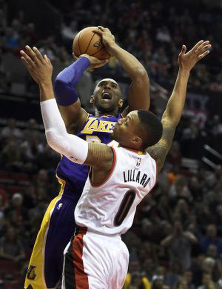 Kobe e Lillard.