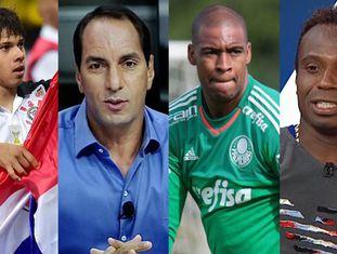 Romero e Edmundo; Jaílson e Edílson: ofensas raciais no futebol.
