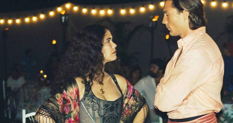 Tereza Seiblitz, a Dara, e Ricardo Macchi, Igor, em 'Explode Coração'