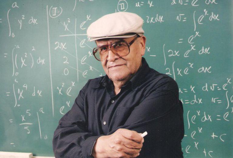 O professor boliviano Jaime Escalante.