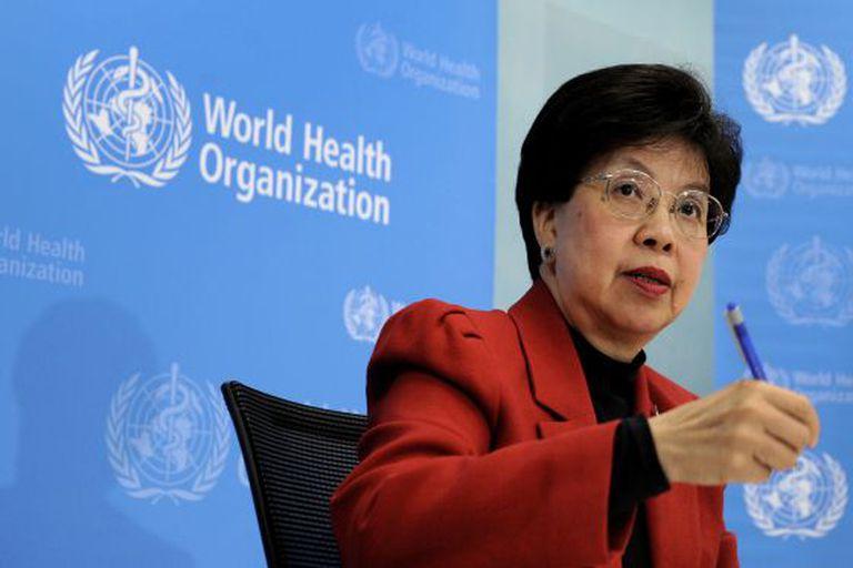 Margaret Chan, diretora geral da OMS, em coletiva de imprensa.