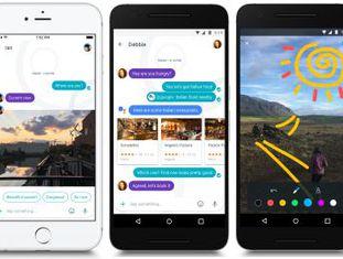 O aplicativo de mensagens possui um assistente virtual dentro de cada conversação, a partir do qual se pode reservar passagens, lugar em restaurantes ou buscar informações
