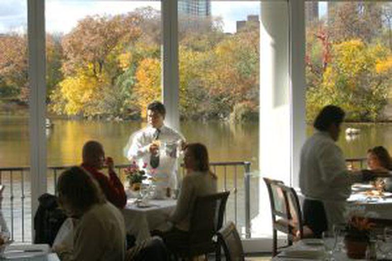 Restaurante Loeb Boat House, no Central Park (Nova York).