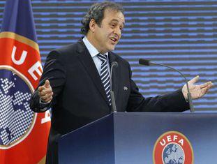 Platini, no congresso da UEFA