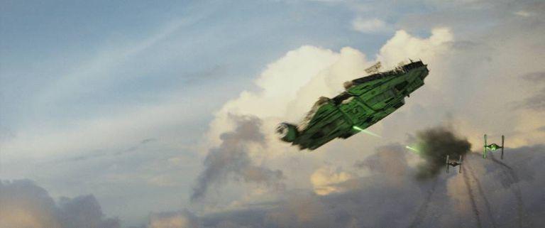 Fotograma de 'Os últimos Jedi'.