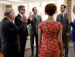 Cena do seriado 'Mad Men'.
