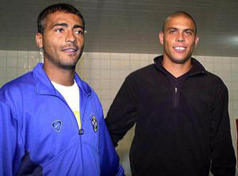 Romário e Ronaldo quando eram amigos em 2011.
