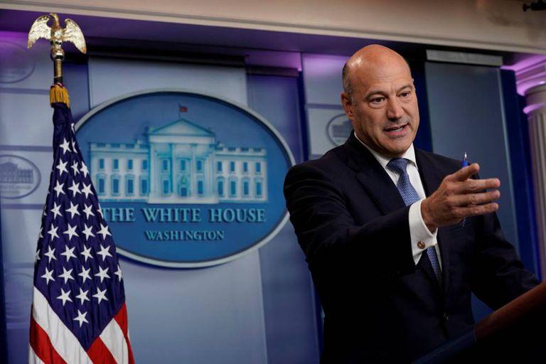 Gary Cohn em setembro, na Casa Branca.