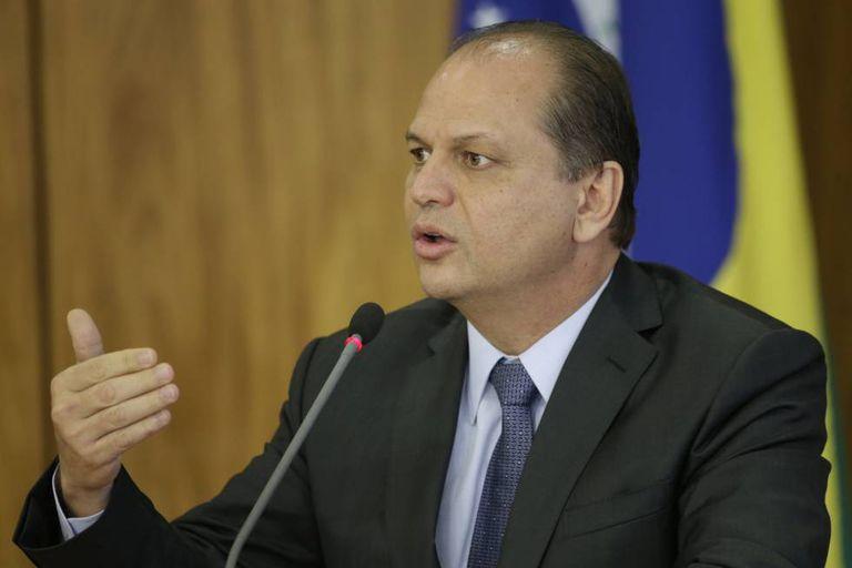 O ministro da Saúde, Ricardo Barros.
