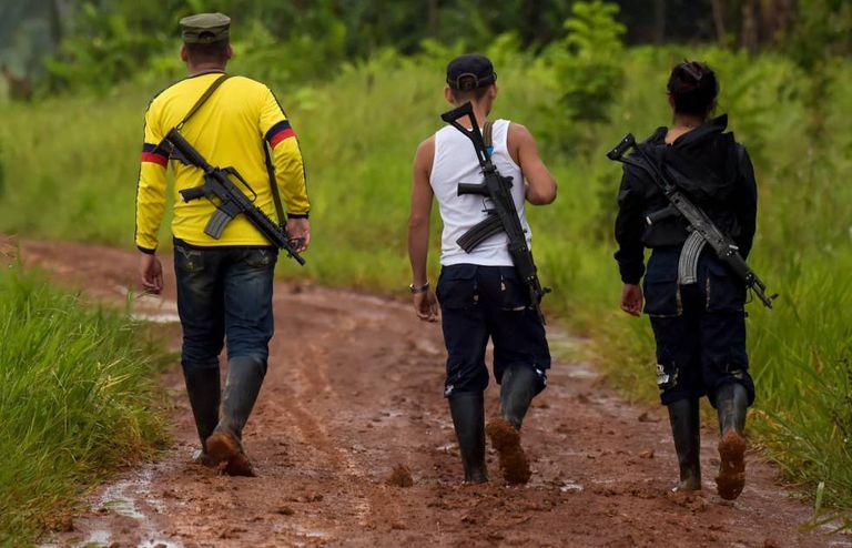 Membros da dissidência das FARC.