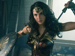 Gal Gadot, em um fotograma de 'Wonder Woman'.
