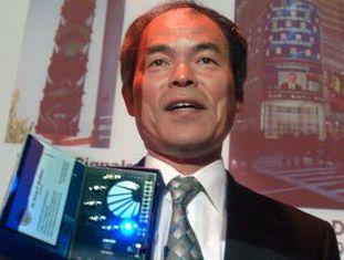 Shuji Nakamura, um dos ganhadores do Nobel de Física.