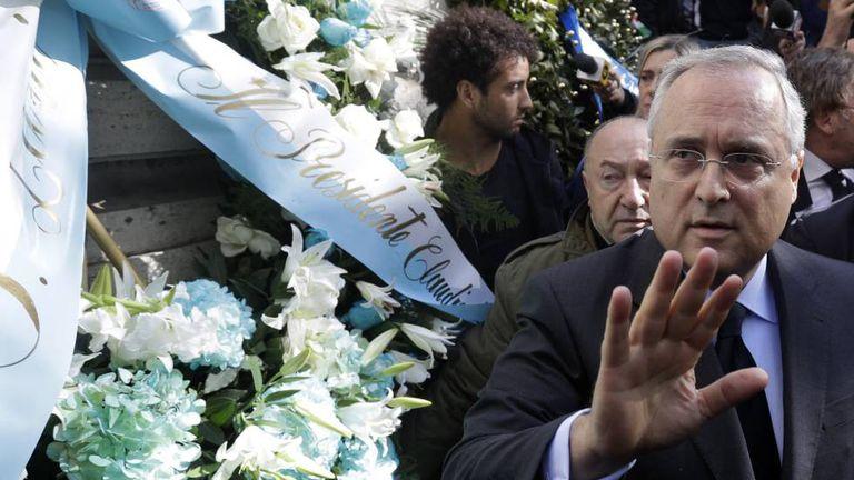 Claudio Lotito, presidente da Lazio