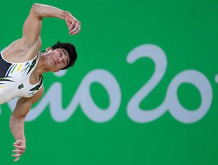 Ginasta Arthur Mariano Nory leva a medalha de bronze neste domingo nos Jogos Olímpicos pelo solo