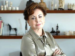 A atriz Beatriz Segall em São Paulo em julho de 2011